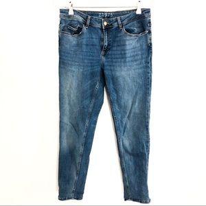 {ZARA} Basic Denim Z1975 Skinny Jeans 12
